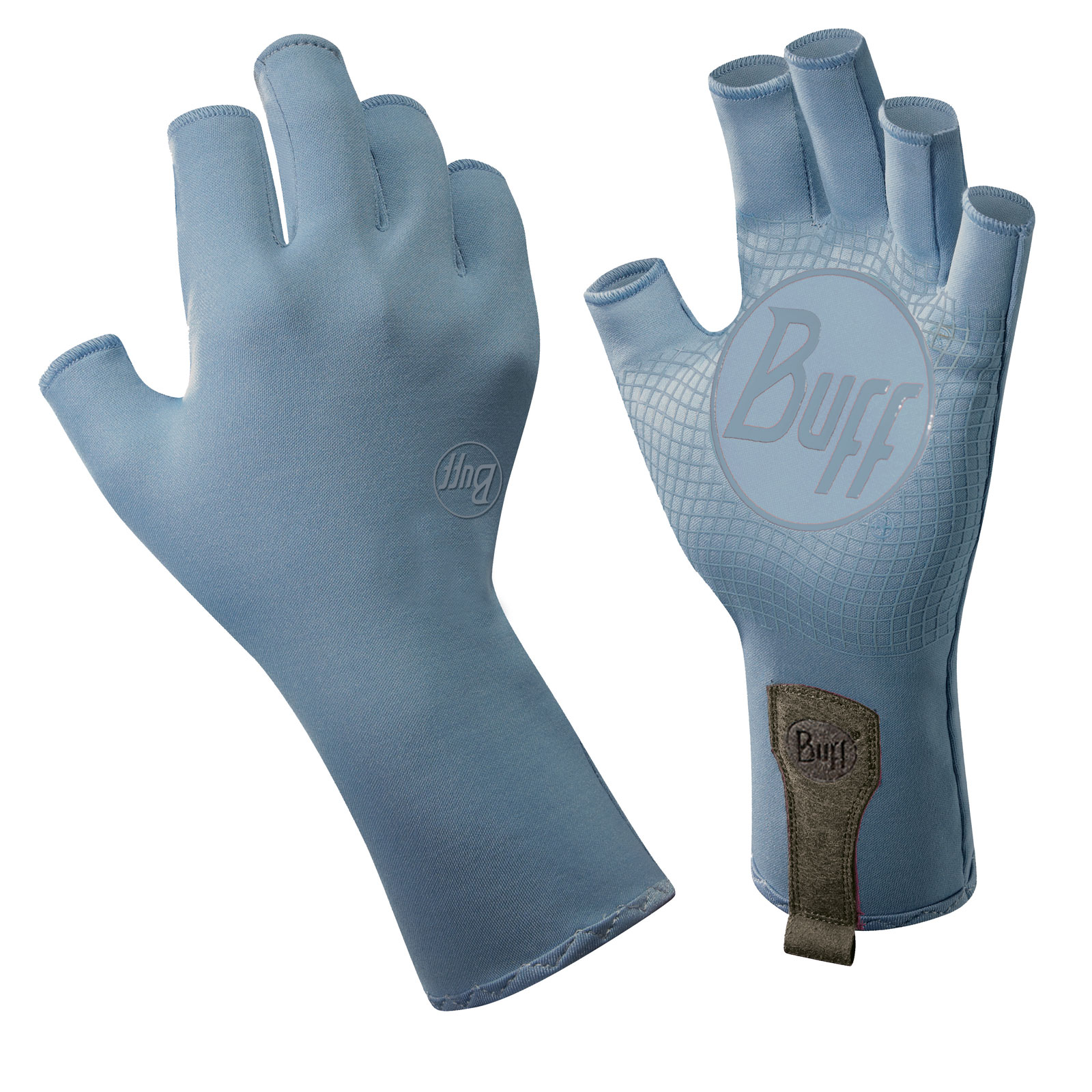 Buff water gloves for Fishing sun gloves